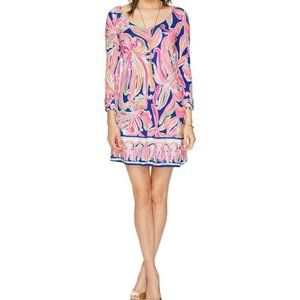Lilly Pulitzer S Emma Dress Banana Flambe MIni